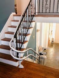 curved stair chair lift. Curved Stair Case Awesome Lift : Flow 2 Stairlift Chair For Stairs Spiral S