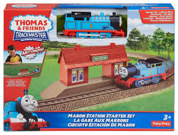 Fisher Price Wooden Railroad Maron Lights Sounds Signal Shed Thomas The Train Trackmaster Maron Station Starter