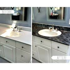 exciting how to paint bathroom countertops look like granite painted large