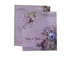 Weding Card Designs Buy Mahaveer Creative Flower Design Invitation Card For
