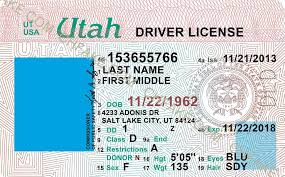 Id Scannable Identification Template Fake Buy Utah