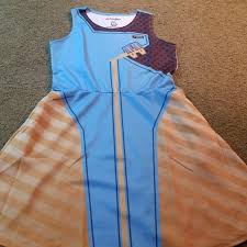 We Love Fine Size Chart Symmetra Overwatch Casual Cosplay Dress Nwt