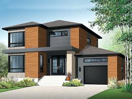 small double story homes designs contemporary house plans modern two home plan building