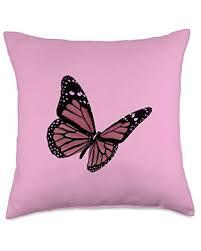 Aesthetic, butterfly, blue butterfly, monarch butterfly, monarch, blue monarch butterfly, cute butterfly, butterflies. Amazing Savings On Butterfly Blue Pink Aesthetic Vaporwave Butterflies Throw Pillow 18x18 Multicolor