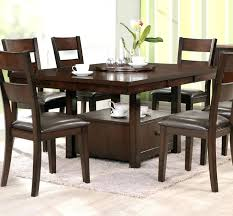 8 person square dining table dining room