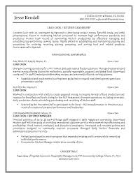 fast food cook resumes sample resume of a cook sample chef resumes the best chef resume