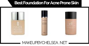 best foundation for acne e skin of 2019