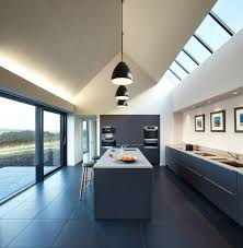 pitched ceiling lighting. kitchen ceiling lighting fixtures led glass isle of skye house not crazy about the deisgn but architecture pitched e