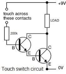 how to make a simple touch triggered transistor relay fear of how to make a simple touch triggered transistor relay