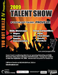 Talent Show Flyer Background Show Flyer Ideas Ohye Mcpgroup Co