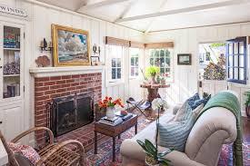 beach style living room by clark collins collins design development