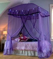 Canopy Tent Over Bed White For Inside Prepare 8 Twin With Lights ...