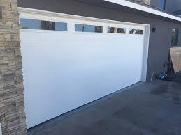 flush panel garage doorNew Martin Garage Door in Costa Mesa  CityScape Garage Doors