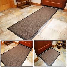 large heavy duty rubber barrier mats non slip washable carpet kitchen floor rugs