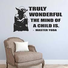 Star Wars Wandaufkleber Wirklich Wunderbare Der Geist Einer Kind Ist