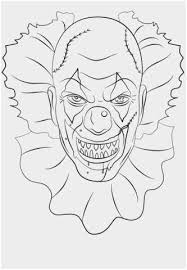 Coloring Pages Of Pennywise The Clown Inspirational Free Clown