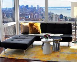 Inspiration For A Contemporary Open Concept Living Room Remodel In New York Awesome Ideas
