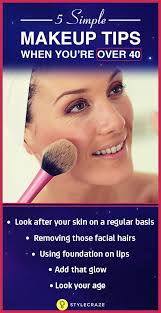 a good lifestyle always shows on your skin so make sure you adopt a healthy lifestyle along with the above makeup tips