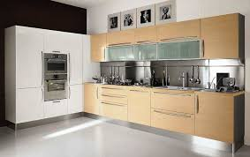 kitchen modern cabinets designs: interior inspiring amazing kitchen cabinets design with modern cabinet pulls and wall oven microwave combo as