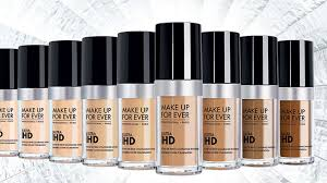 makeup forever ultra hd range