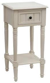 antique white accent table simplify accent table with drawer antique white antique white one drawer accent