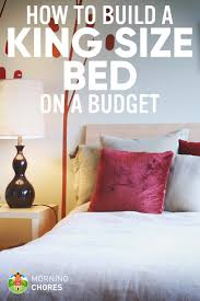 diy king bed frame. Plain Bed And Diy King Bed Frame D