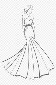 Gaun #5   cara menggambar & mewarnai gambar baju anak подробнее. Gaun Gaun Pengantin Gambar Gambar Png