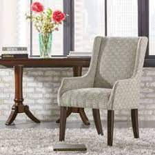 jourdan grey link sloped arm hostess chair by inspire q bold grey bracket chain fabric sloping track arm linen furniture outlet furnituredining