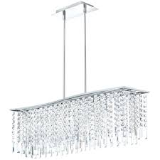 rectangular crystal chandelier with black shade rectangular modern crystal chandelier lighting for large contemporary dining room spaces ideas rectangular