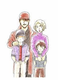 Master Detective xX — Akai Family (Past) (Fan Art)