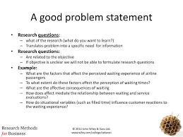 Research Problem Statement Examples The Broad Problem Area And Defining The Problem Statement