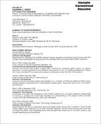 Sample Resume For Software Tester Fresher Publicassets Us