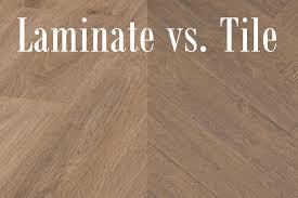laminate flooring vs floor tiles