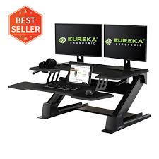 Eureka Standing Desk Converter 46 Black | Free Shipping ...
