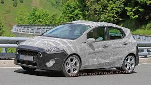 2018 ford fiesta. contemporary fiesta 2018 ford fiesta spotted inside ford fiesta