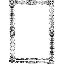Simple Ornate Frame clipart cliparts of Simple Ornate Frame free