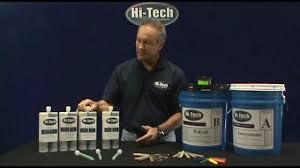 Hi Tech Systems Polyurea Concrete Crack Repair Products