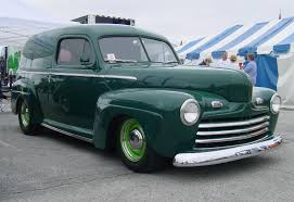 1946 Ford sedan delivery. I wouldn't generally care for green but ...