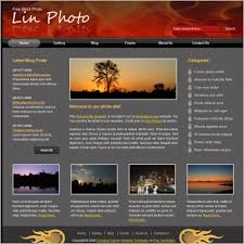 Html Website Template Adorable Lin Photo Free Website Templates In Css Js Format For Free
