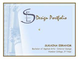 Interior Design Portfolio Ideas design portfolio sukaina ebrahim bachelor of applied arts interior design
