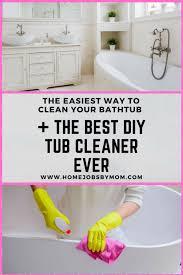 diy tub cleaner diy tub cleaner bathtub cleaning tub cleaner recipe tub cleaner