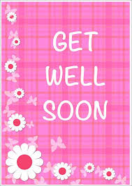 Get Well Soon Cards Printables Get Well Soon Card Printable Prnt