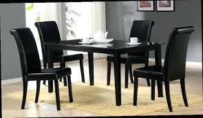 tall dining room sets. Black Dining Room Chairs Table Set 4 Of 6 . Tall Sets