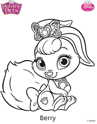 Small Picture Princess Palace Pets Berry Coloring Page by SKGaleana on DeviantArt