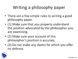 how to write a good writing a philosophy paper clear how you understand these notions even if they are familiar from everyday discourse hence if these papers are right the question will be harder