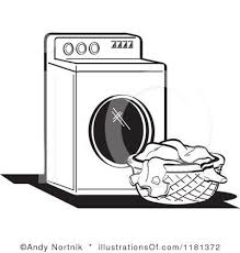 laundry clipart black and white. Perfect White 100 Best Images About Illustration Laundry Day On In Clipart Black And White Beautyofwater