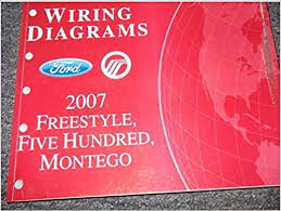 2007 ford style montego ford 500 electrical wiring diagram 2007 ford style montego ford 500 electrical wiring diagram manual ewd oem ford amazon com books