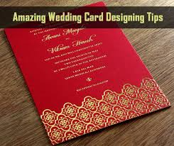 Weding Card Designs Amazing Wedding Card Designing Tips