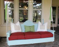 Headboard Bench Plans Pin By Ruth Nowak On Outside Ideas Pinterest Swings Porch And