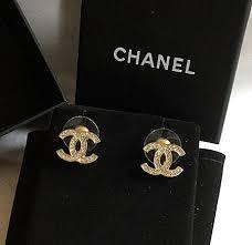 chanel earrings. chanel earrings